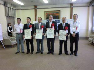 ハートフル企業教育貢献賞表彰状の授与②