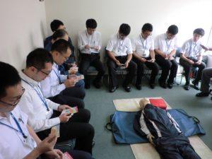 平成29年9月 AED救命入門コース実施報告1