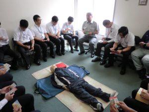 平成29年9月 AED救命入門コース実施報告
