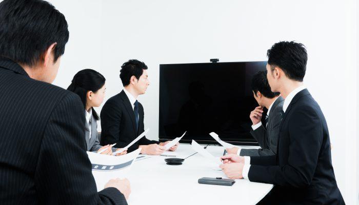 テレビ会議イメージ